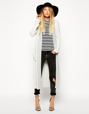 Asos knit overcoat