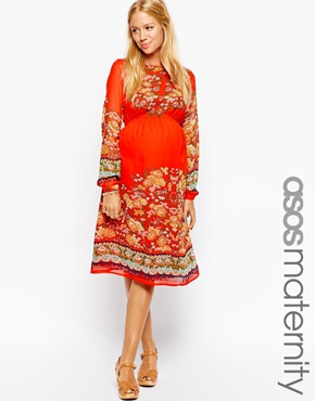 Asos maternity dress - maternity options