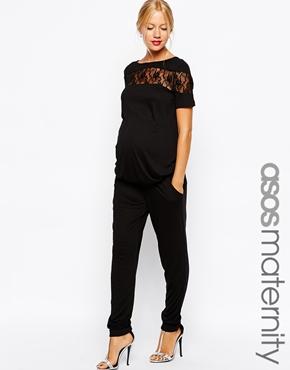 Asos maternity jumpsuit