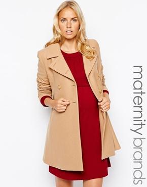 Isabella Oliver maternity coat
