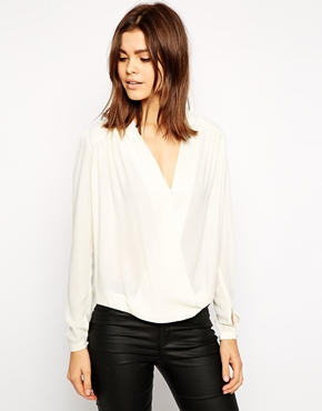 TFNC wrap blouse