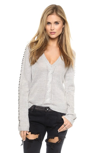 One Teaspoon spiked sweater