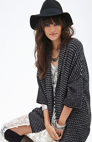Forever 21 cardigan - new knits