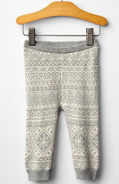 Gap sweater pants