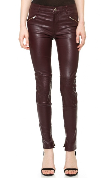 BLK DNM leather pants
