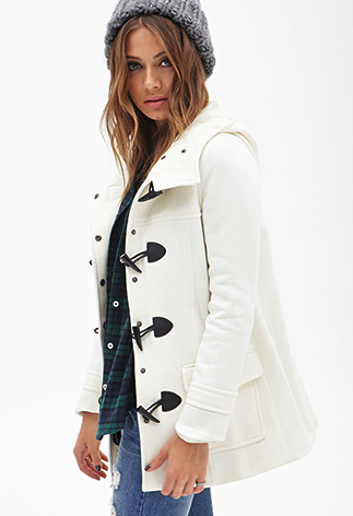 Forever 21 coat - fashion for less