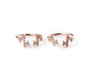 Rue Gembon rings (set of 2)