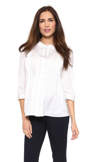 Rosie Pope maternity blouse