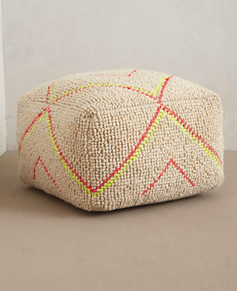 Furniture Archives Red Soled Momma Delectable Anthropologie Pouf