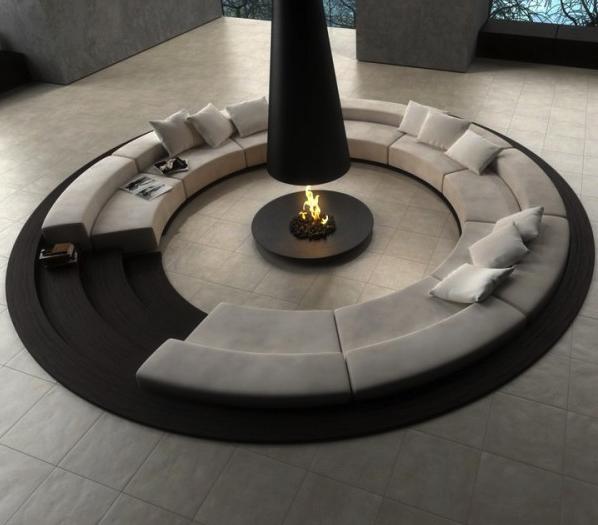 Ravenna Modern circular sofa
