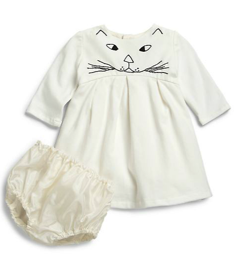 Isabel Garreton dress and bloomers set