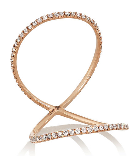 Anita Ko double eternity ring