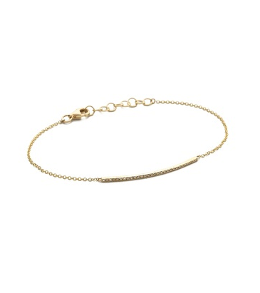 EF Collection diamond chain bracelet