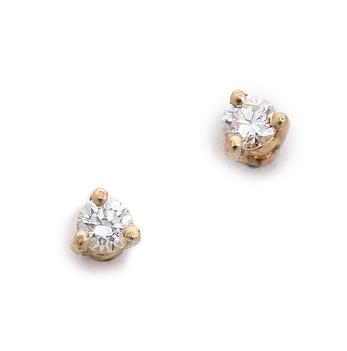 Blana Monros Gomez diamond studs