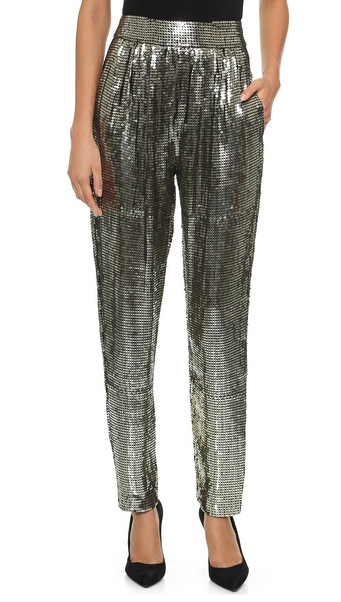 Alice + Olivia sequin pants