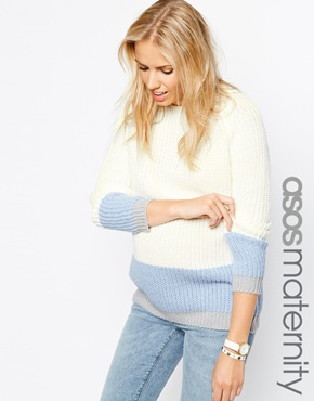Asos maternity sweater - pregnancy fashion