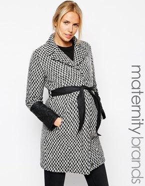 Mamalicious maternity coat