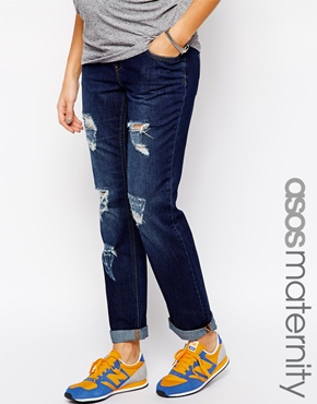 Asos maternity boyfriend jeans
