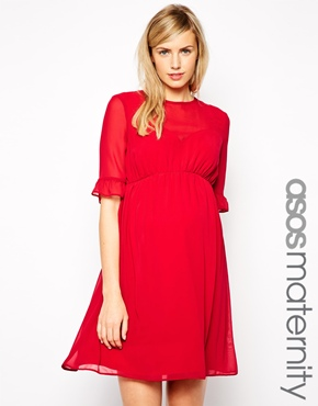MATERNITY MONDAY... maternity holiday dresses - Red Soled Momma