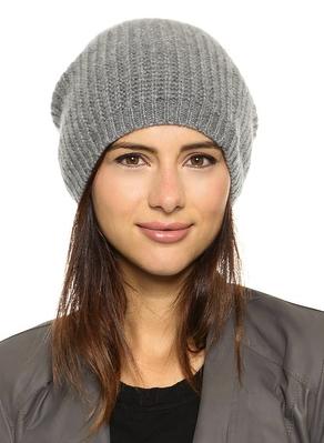1717 Olive cashmere hat