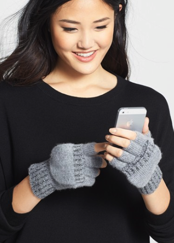 Made of Me convertible cashmere gloves