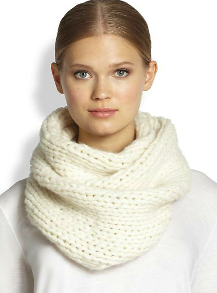 Helmut Lang infinity scarf
