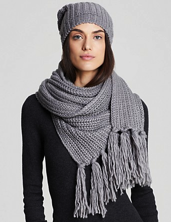 Aqua scarf