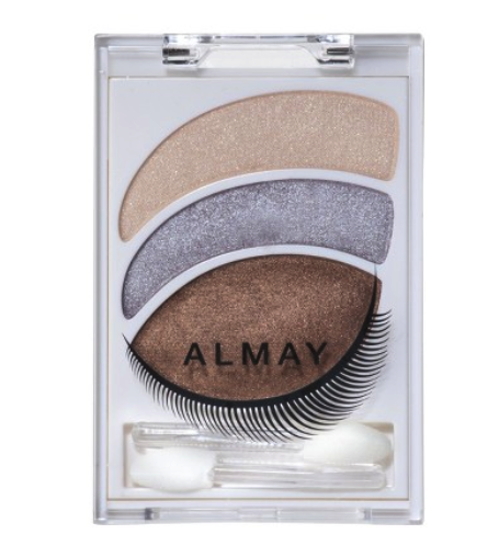 ALmay intense smoky eye shadow (various combinations depending on eye color)