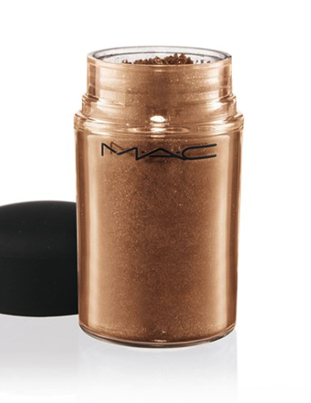 Mac pigment in copper sparkle