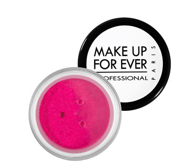 Make Up Forever star powder in iridescent fuscia