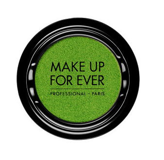 Make Up Forever eyeshadow in acidic green