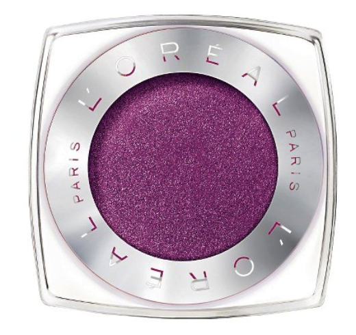 L'Oreal infallible eyeshadow in glistening garnet