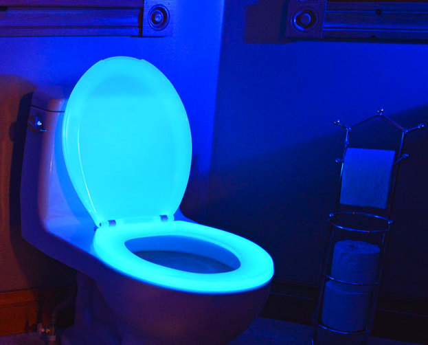 Glow in the dark toilet seat - gift guide for men