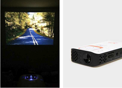 X Stories portable projector