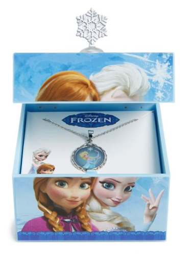 Mr Christmas Frozen music box and necklace