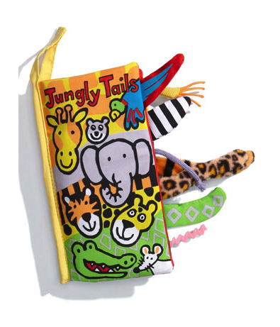 Jellycat jungle tails book