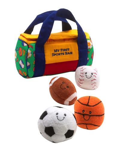 Gund my first sports bag