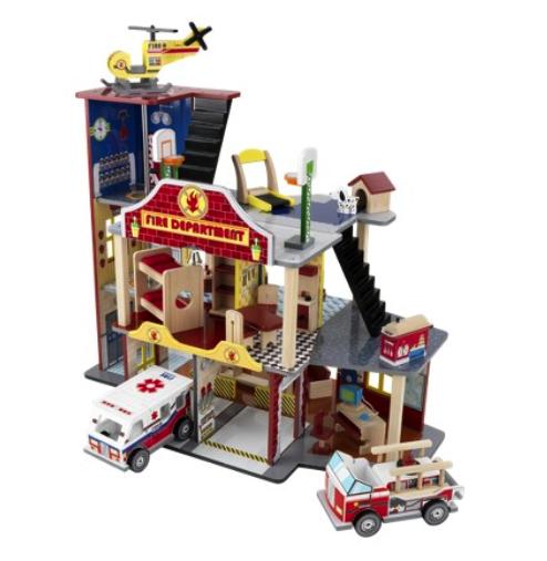 KidKraft deluxe fire station