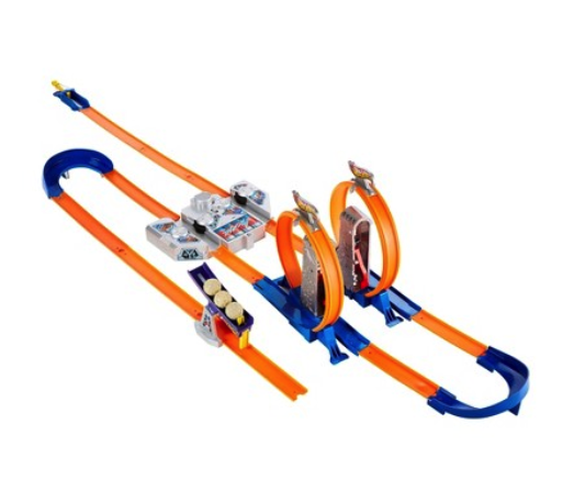 Hotwheels track builder