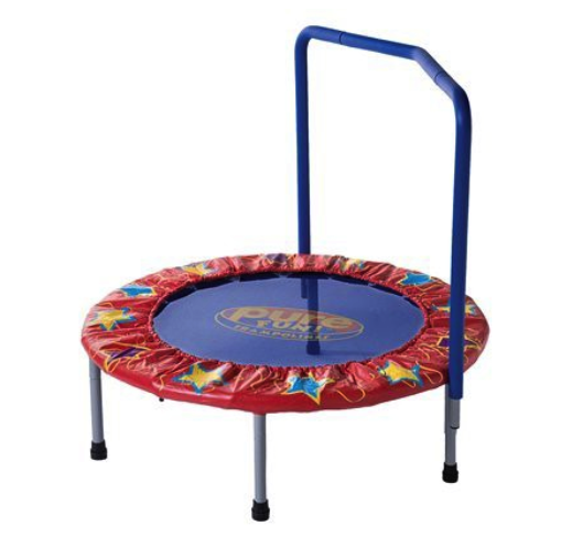 Pure Fun kids mini trampoline