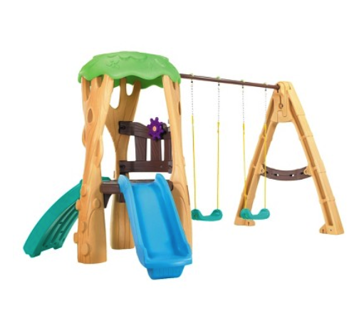 Little Tikes treehouse swing set