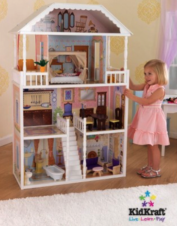KidKraft dollhouse set