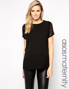 Asos maternity top