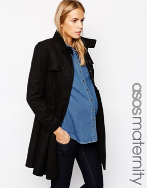 Asos maternity coat