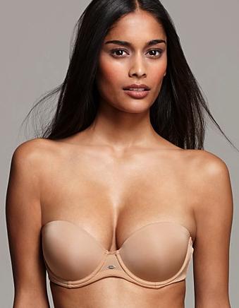 Calvin Klein strapless push up bra