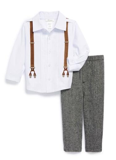 Mini Classix shirt and pants set