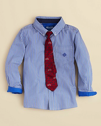 Andy & Evan shirt and tie set