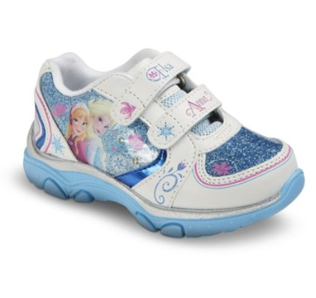 Disney Frozen light up sneakers
