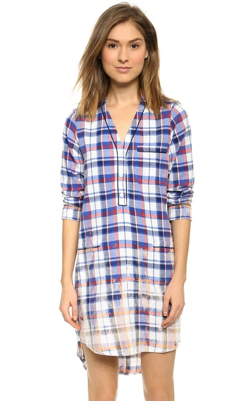 Sea shirtdress