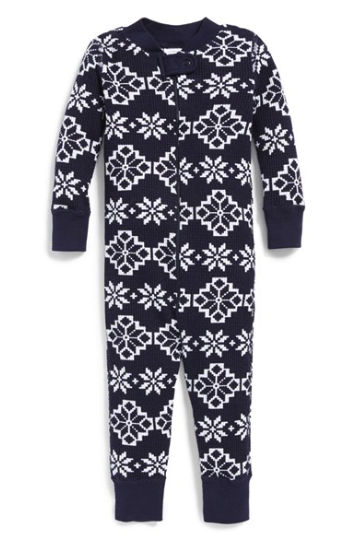 Hanna Andersson thermal romper